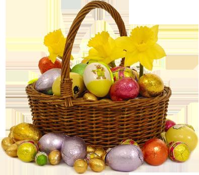 Cestino Uova Pasqua